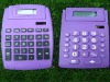 dual solar power big desktop office calculator