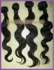 wholesale black body wave virgin brazilian Hair weaving