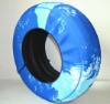 Pvc spare car tire cover