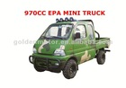 HDC970-1A 970cc EPA/CARB4x4 mini car truck