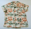 Hot!Child summer Hawaii shirt