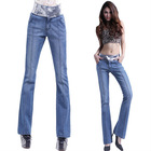2012 new style women boot cut jeans 2171
