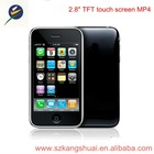 2.8 inch TFT touch screen MP4