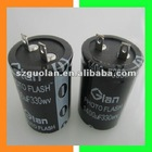 330WV 330UF 25*40mm Aluminum Electrolytic Capacitor For Photo Studio Flash Light