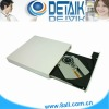 White Color USB 2.0 External DVD-RW Drive; Optical Drive