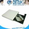 White Color USB 2.0 External DVD-RW Drive; Optical Drive
