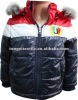 Kids fancy nylon winter jackets