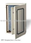 Plexiglass door and Inner door metal distribution box