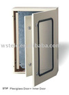 Plexiglass door and Inner door metal distribution box