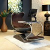 2012 DEMNI Frog 4.0 stylish PU leather indoor swing chair with Mp3 Player and Bass Voice