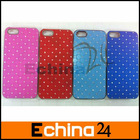 New Colorful Bling Hard Cover Case for iPhone 5 New iPhone Accept Small Order and Paypal