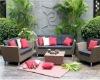 pe rattan outdoor furniture