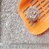 Low tracking white bentonite cat sand