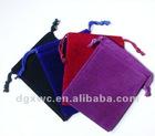 velvet flannel mobile bag