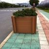Roadside wpc flower box