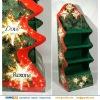 Christmas lamp / lights Folding 4 Tier Cardboard Floor Display