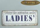 address plaque ladies' sign, round wall decorative plaque, custom number plaque design wholesale