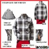 MENS/LADIES GREY/BLACK/WHITE SPIRIT SKI JACKET