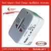 Top Popular in UK 2012 market travel plug for UK market / US/UK/EU/AUS plug and socket