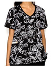 Seasonal Fashion V-Neckline Scrub Top