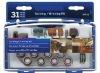 mini accessory kits / rotary tool accessory set / 31pcs sanding and sharpening kits