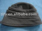 lady winter warm decorate basin cap
