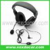Boom mic headset for Yaesu/Vertex VX-300 VX-400
