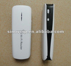 Industrial 802.11b/g/n Mini 3G Wifi Router