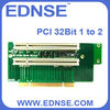 EDNSE riser card PCI 32bit 1 to 2