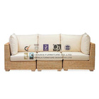 NOF-043 Outdoor Natural Rattan Sectional sofa