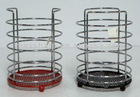 chromed wire cutlery holder