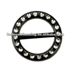 Round plastic ring buckle