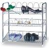 iron shoe rack