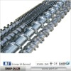 Screw and barrel of Extruder machine types: screw and barrel
