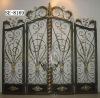 ornamental custom iron fence