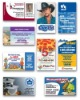 Various for Promotional Fridge magnet business card
