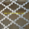 Galvanized and Coated Razor Type Barbed Wire (manufacture)