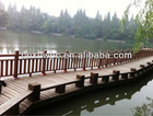 decorative wood railing