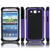 triple layers for Samsung Galaxy S3 replacement mobile phone case for Samsung Galaxy S3