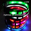 LED Flashing Pet Collar & Harness - 2 mode flashing
