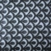 Trendy Plain Laser Embroidery mesh fabric