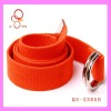 Factory offer fashion elastic belt with dring buckle