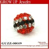 New trendy shamballa crystal ball beads 2012