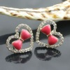 Heart Crystal Wholesale Studs And Spikes