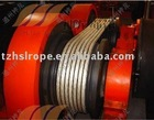 12-strand Dyneema (uhmwpe)power-transmission line ( electrical-insulation-rope/ cable-pulling-line)