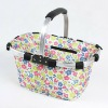 Foldable shopping Basket,Folding shopping basket