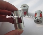 High precision CNC motor jaw shaft coupling