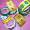 2012 hot selling bopp printing tapes