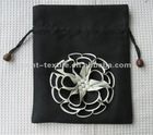HOT! 3D flower embroidery wedding gift pouch