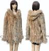 CX-G-A-148B Rabbit Fur Knitted Clothing Fashion